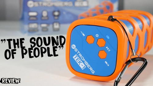 parlante bluetooth portatil stromberg 15w cyber monday