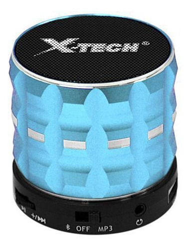parlante bluetooth portatil usb fm x-tech nuevos!!!