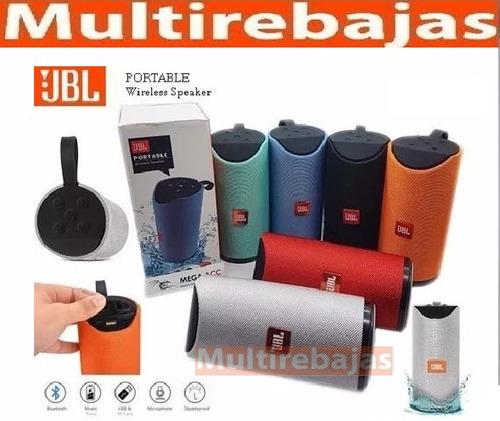 parlante bluetooth radio fm + aux + usb + micro sd - potente