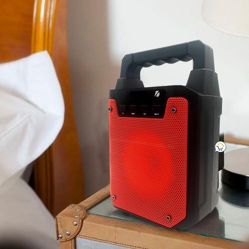 parlante bluetooth recargable portable radio usb sd rf 996c