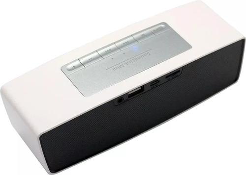parlante bluetooth recargable usb micro sd aux radio fm