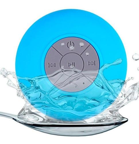 parlante bluetooth resistente al agua manos libres para baño