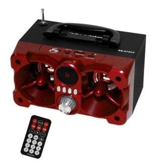 parlante bluetooth roadstar usb control remoto nuevos!!!