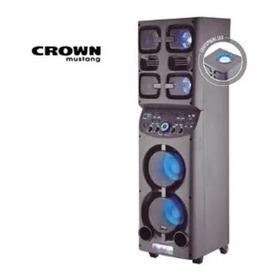 Parlante Bluetooth Sbl-6500 Crown Mustang