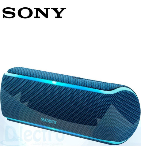 parlante bluetooth sony srs-xb21 extra bass xb21 - dlectro