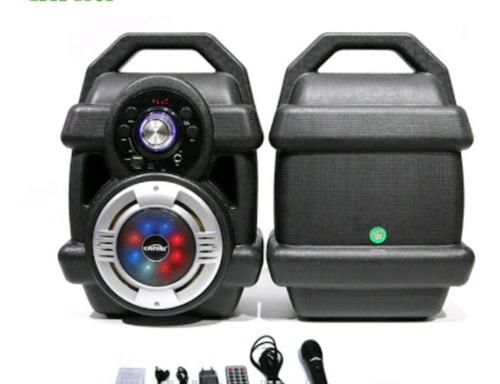 parlante bluetooth + subwoofer de 70 watts karaoke