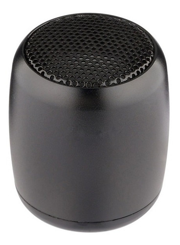 parlante bluetooth tws mini de aluminio, excelente sonido estéreo - sheyeda