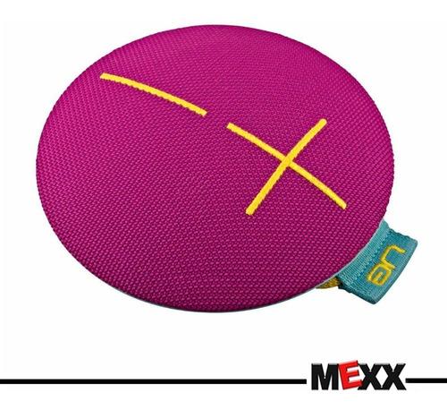 parlante bluetooth ue roll 2 rosa inalambrico mexx