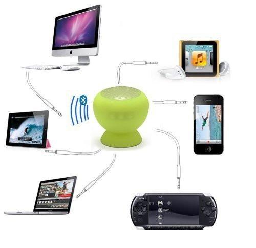 parlante bluetooth wireless a prueba de agua hands free