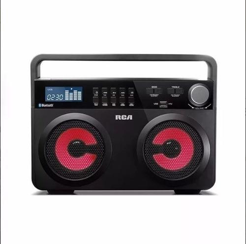 parlante boombox rca con bluetooth 600w