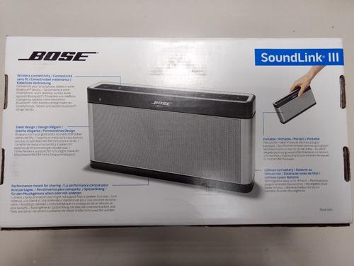 parlante bose soundlink iii