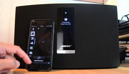 parlante bose soundtouch 20 negro usado excelente estado.