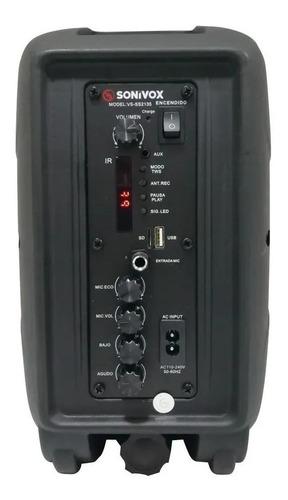 parlante cabina usb bluetooth recargable +¡ soporte base!