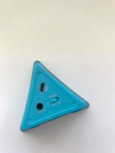 parlante celeste triangular usado