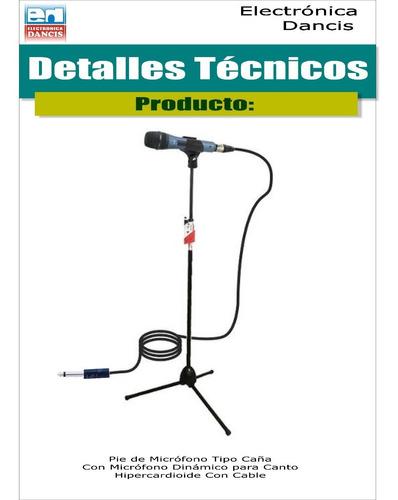 parlante con amplificador para karaoke, con micrófono y pie