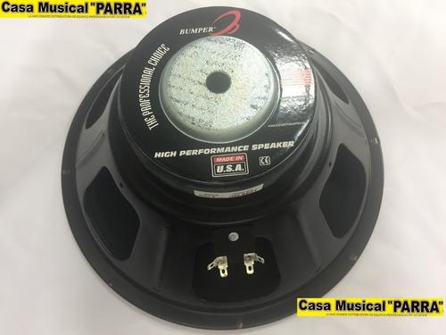 parlante de 12 pulgadas 400 watts 8 ohm bumper