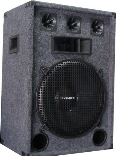 parlante de 3 vías con woofer full range de 15 800w 8 ohms
