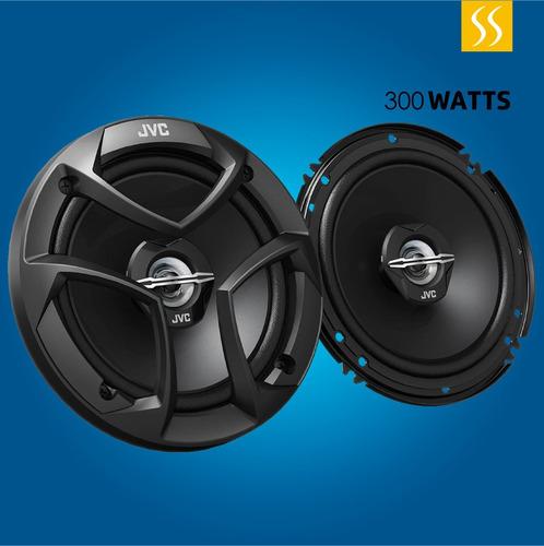 parlante de auto jcv redondo 16cm 300 watts 6x5  2 vias