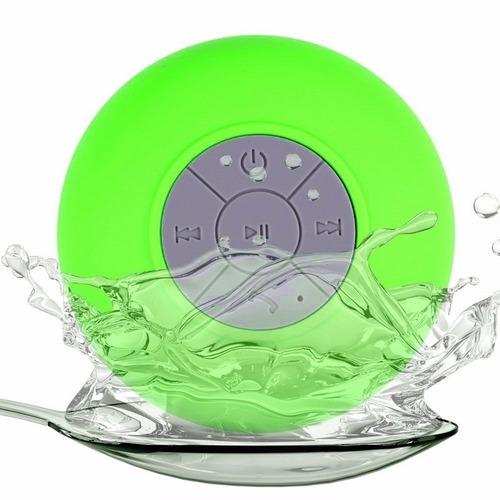 parlante ducha bluetooth resiste agua manos libres celulares