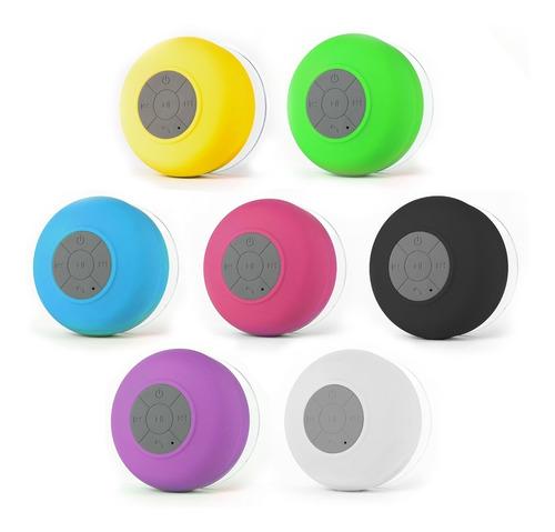 parlante ducha  portatil bluetooth 3.0 p/ colores varios!