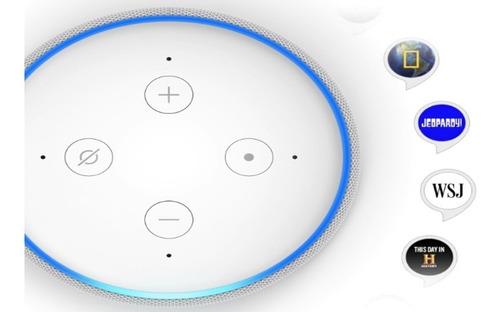 parlante echo dot (3ra g) con inteligencia artificial