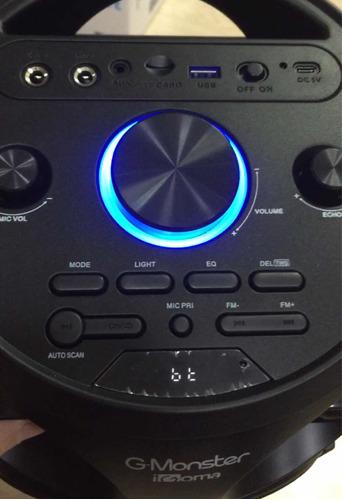 parlante g-monster nuevo modelo