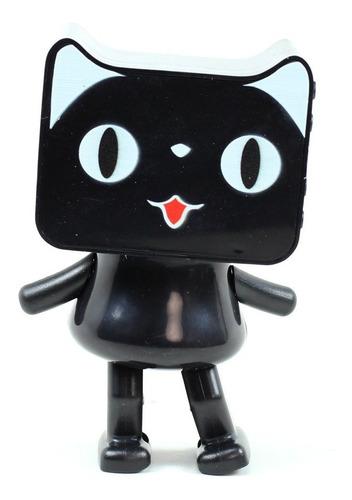 parlante gato bailarín negro bluetooth v 4.1 - mitiendacl