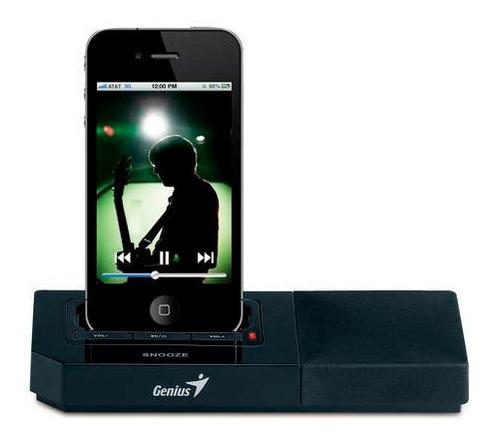parlante genius sp-i500 3w para iphone 4/4s - tecsys