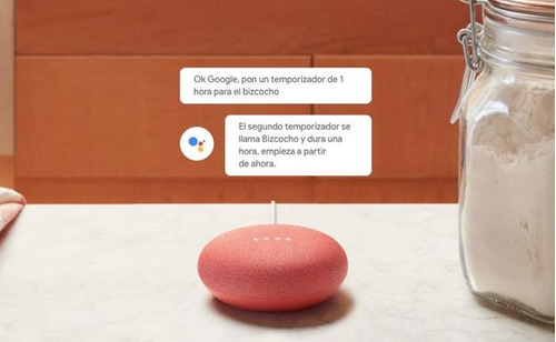 parlante google home mini asistente voz 2018 sellado español