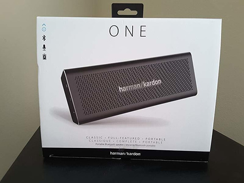 parlante harman kardon one portable bluetooth black