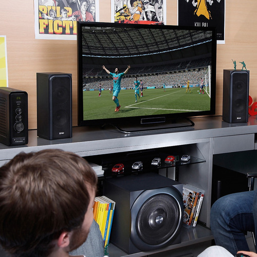 parlante home theater con bluetooth ratsel para gamer