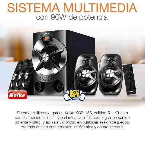 parlante home theatre 5.1 bluetooth para celular tv pc mp3