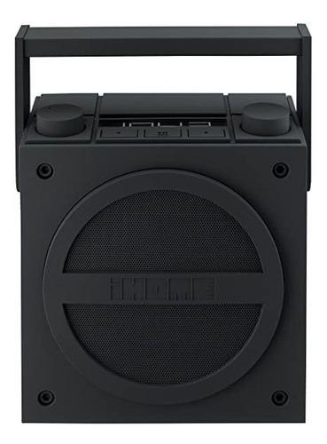 parlante ihome ibt4bc bluetooth recargable boombox fm radio