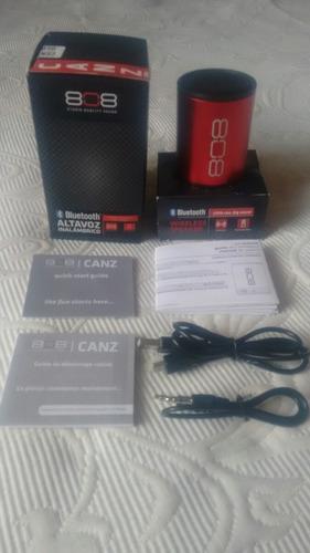 parlante inalámbrico bluetooth 808 canz original ipod altavo