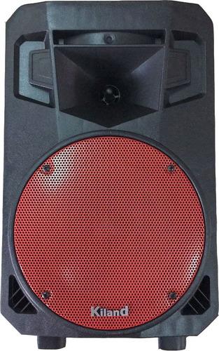 parlante inalambrico bluetooth c/remoto y 2 mic. kiland