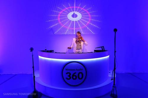 parlante inalámbrico samsung audio 360 hd wi fi