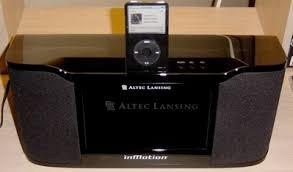 parlante ipod/  altec lansing