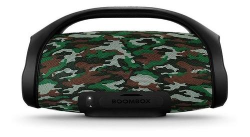 parlante jbl boombox bluetooth 60w ipx7 camuflado