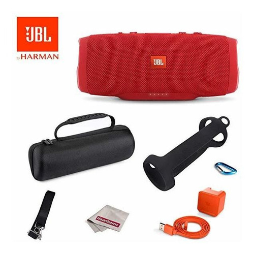 parlante jbl charge 3 bluetooth + easy carrying durable sili