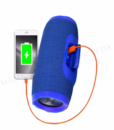 parlante jbl charge 3 bluetooth resistente agua + regalo