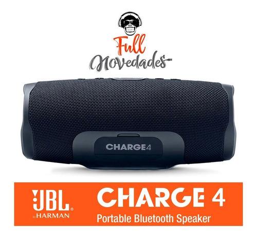 parlante jbl charge 4 acuatico bluetooth portatil by harman