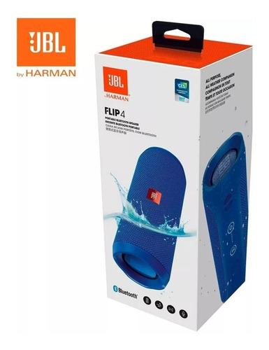 parlante jbl flip 4 bt 100% original 12 horas 16w acuático