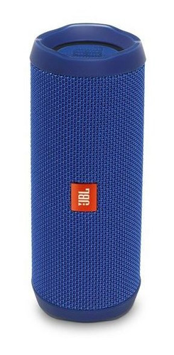 parlante jbl flip 4 wireless portable stereo azul