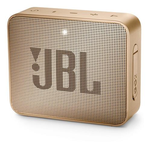 parlante jbl go 2 portable bluetooth ipx7 champán perla