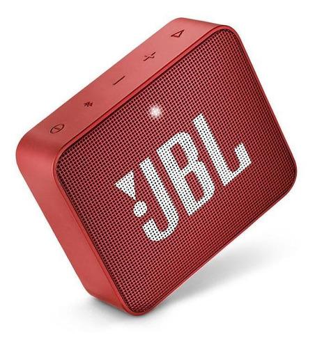 parlante jbl go 2 rojo