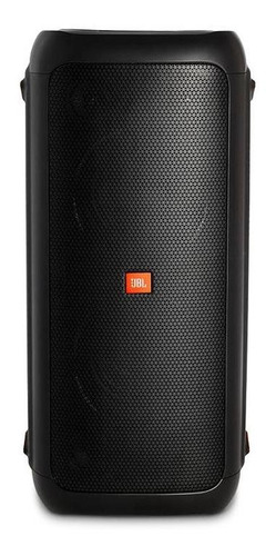 parlante jbl partybox200 portable bluetooth luz 12v negro