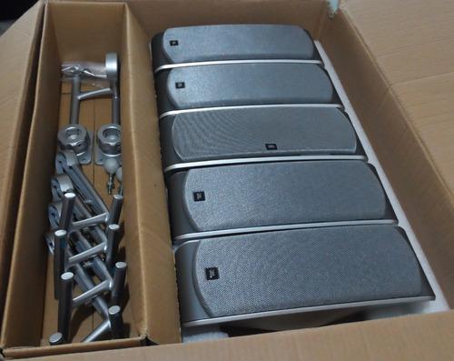 parlante jbl sat 300 + 100watts + 8ohm + soportes pared mesa