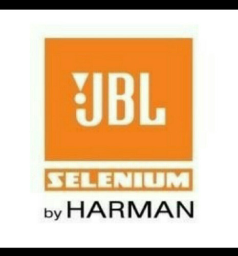 parlante jbl selenium modelo 15pw6 15 pulgadas