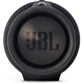 parlante jbl xtreme black bluetooth splashproof