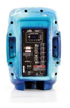parlante kalley k-spk50bledcpa 50w azul parlante kal tk894
